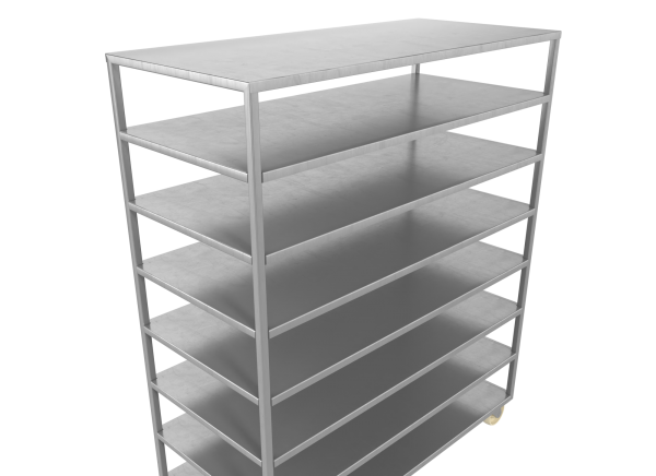 Тележка для перевозки блоков
