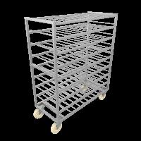 Тележки для заморозки блоков и коробов