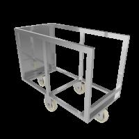Тележка для перевозки и хранения коптильных палок