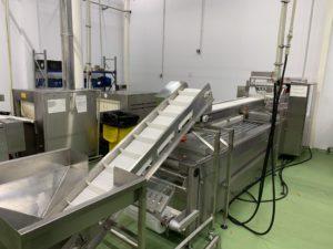 Конвейер подачи продукта на термоформер
